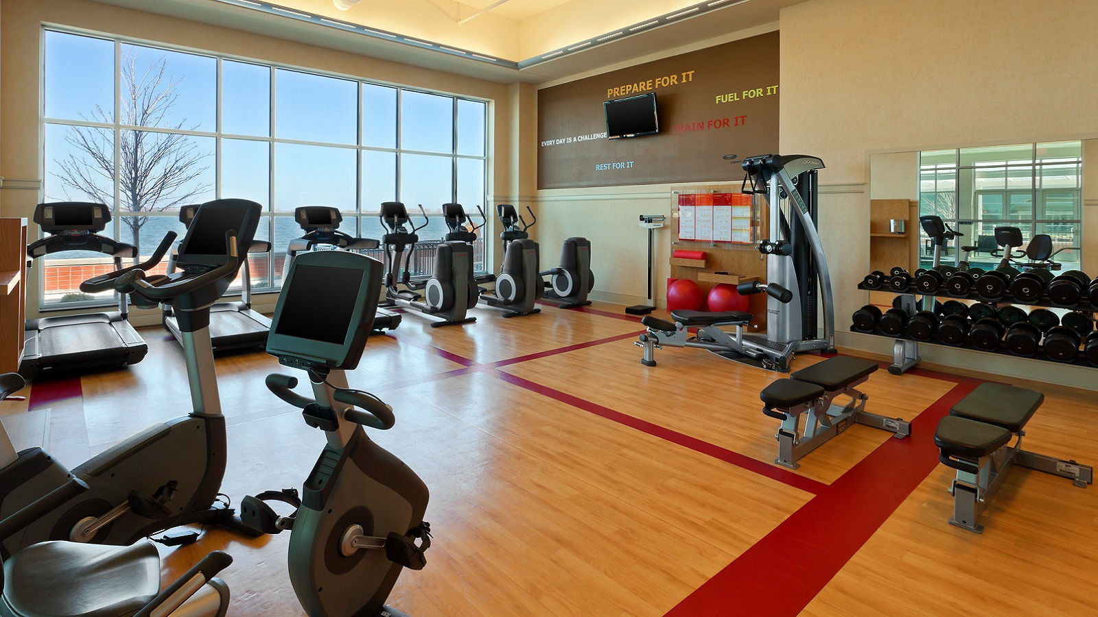 Erie Hotel Features - Fitness Center